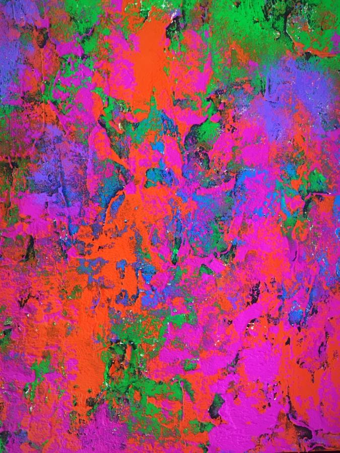 Más allá de tus sentidos - Obra de Coqui Vera - Florence Biennale-Pintura