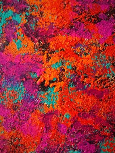 Diálogo desde el corazón- Obra de Coqui Vera-Pintura
